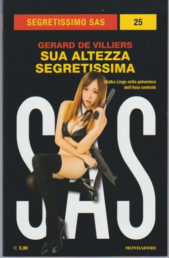Sua Altezza Segretissima di Gerard de Villiers Coll.Segretissimo SAS n.25