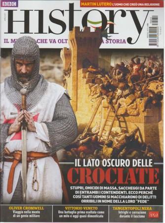 Bbc History Italia - mensile n. 72 Aprile 2017 CROCIATE