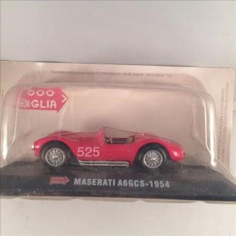 Modellino Maserati A6GCS - 1954 - Scala 1:43 + fascicolo by Hachette