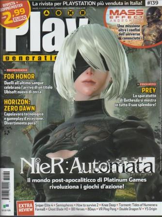 Play Generation - mensile n. 139 Aprile 2017