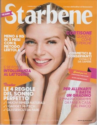Starbene - Settimanale n. 16 - 4 Aprile 2017