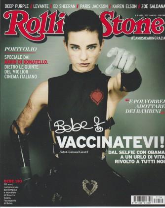 "Rolling Stone - mensile n. 4 - Aprile 2017 ""Bebe"""