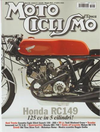 Motociclismo Epoca - mensile n. 5 Maggio 2017