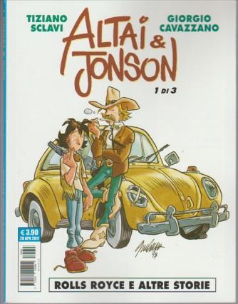 """Cosmo Serie Blu - Altai & Jonson n. 1 di 3 """"Rolls Royce e altre storie"""""""