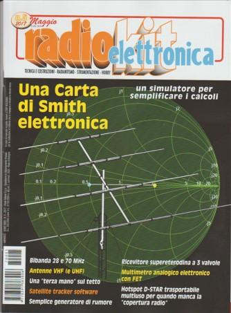 Radio Kit Elettronica - mensile n. 5 Maaggio 2017