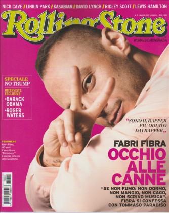 Rolling Stone - mensile n. 5 Maggio 2017 - Fabri Fibra