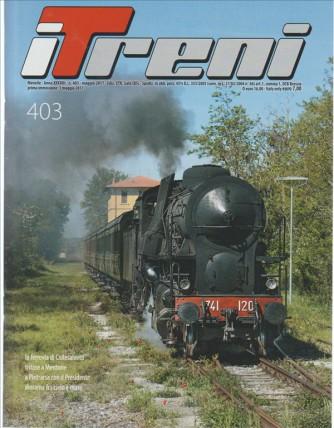 i Treni - Mensile n. 403 Maggio 2017