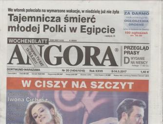Angora - Settimanale (in lingua polacca) n. 20 - maggio 2017