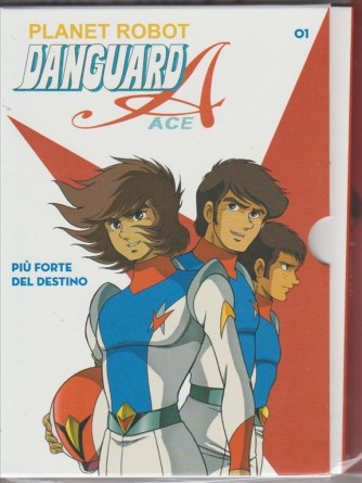 "1° DVD Anime - Danguard robot - DANGUARD ACE ""più forte del Destino"""