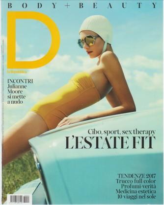 D Body + Beauty inserto de La Repubblica di Sabato 20 Maggio 2017