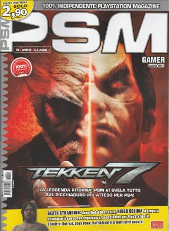 "PSM Gamer - mensile n. 2 Giugno 2017 ""Tekken 7"""