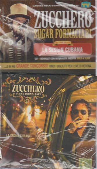 CD Zucchero Sugar Fornaciari n. 7 - La Sesion cubana by Sorrisi e canzoni TV