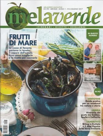 """MelaVerde magazine  - n.4 Giugno 2017 """"Frutti di mare"""""""