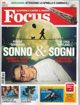 """Focus - mensile n. 296 - giugno 2017 """"Sonno & Sogni"""""""