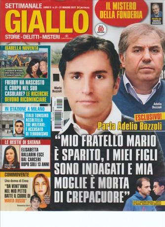 Giallo ( storie, delitti, misteri) - settimanale 21 - 31 Maggio 2017