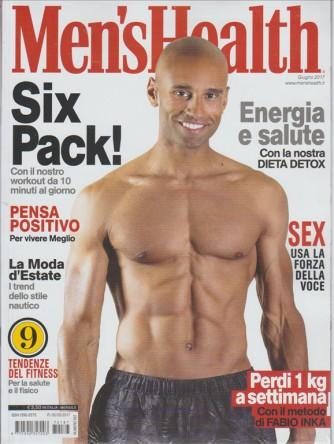 """Men's Health - mensile n. 187 Giugno 2017 """"SIX PAXK!"""" con Workout da 10 minuti gg"""