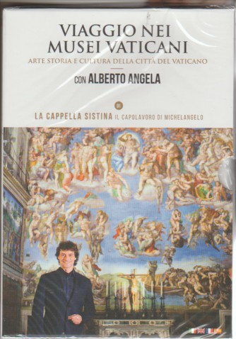 1° DVD Musei Vaticani con Alberto Angela - La Cappella Sistina + Cofanetto