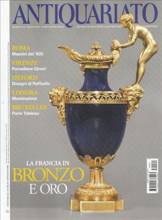 """Antiquariato - mensile n. 434 Giugno 2017 """"la Francia in bronzo e oro"""""""