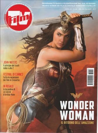 """Film Tv - settimanale n. 22-30 Maggio 2017""""Wonder Woman il ritorno dell'Amazzone"""""""