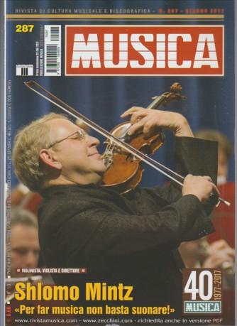 "Musica - mensile n. 287 Giugno 2017 ""Shlomo Mintz"""