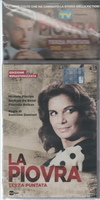 DVD La Piovra  -  Terza puntata - Ed. Rimasterizzata
