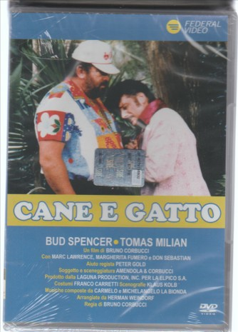 DVD Thomas Milian - Cane E Gatto - Regista: Bruno Corbucci