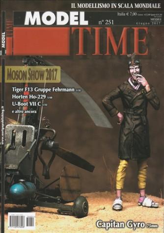 "Model Time - mensile n. 251 Giugno 2017 - ""Moson Show 2017"""