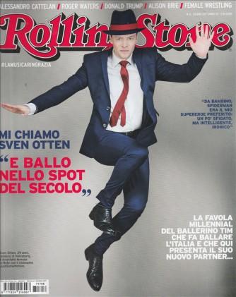 """Rolling Stone (Double Cover) mensile n. 6 Giugno 2017 """"Ferro / Sven Otten"""""""