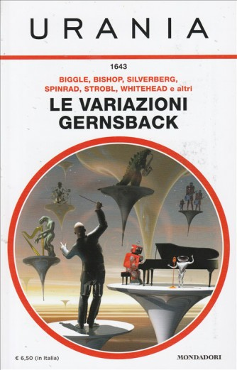 Le Variazioni Gernsback di Biggle, Bishop, Silverberg, Spinrad, Strobl, Whitehead