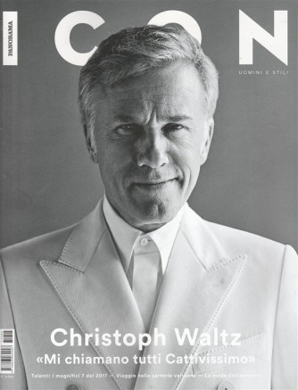 "Panorama ICON - mensile n. 36 Giugno 2017 ""Christopher Waltz"""