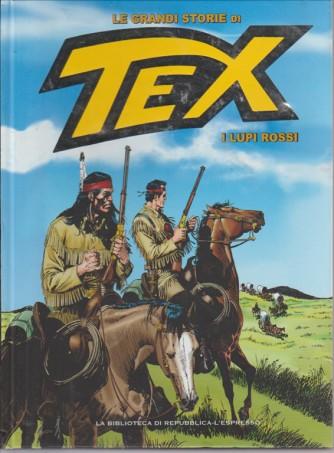 LE GRANDI STORIE DI TEX. N. 38. I LUPI ROSSI. 2016.