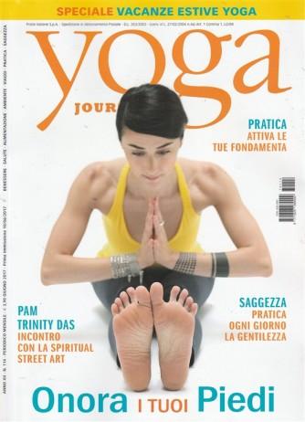 """Yoga Journal - mensile n. 114  Giugno 2017 """"Onora i tuoi piedi"""""""