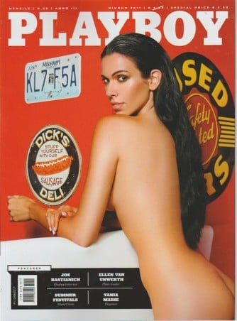 Playboy - mensile n. 20 Giugno 2017 - Tania Marie playmate