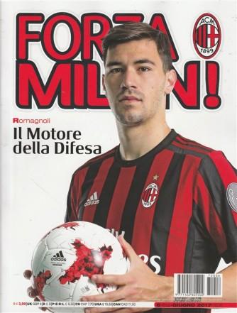 """Forza Milan - mensile n. 6 (602) Giugno 2017 """"Romagnoli"""""""