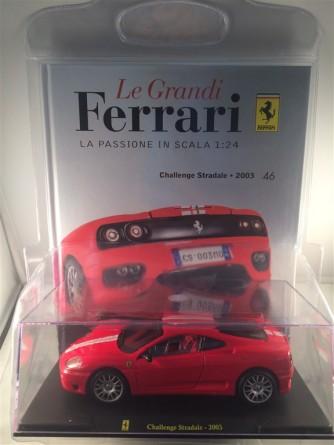 Modellino Ferrari - la passione in scala 1:24 - Challenge Stradale del 2003