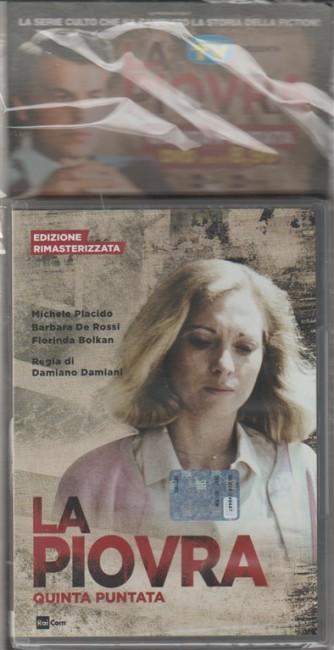 DVD La Piovra Ediz. rimasterizzata 5° Puntata