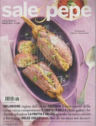 Sale & Pepe - mensile n. 7 Luglio 2017 - Melanzane ripiene al pecorino