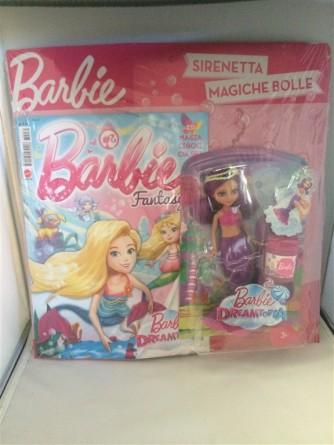 la Mia Prima Barbie-mensile n.231 Luglio 2017 c/Barbie Sirenetta+magiche bolle