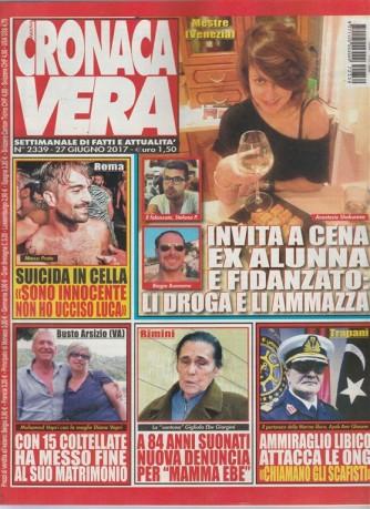 Nuova Cronaca Vera-settimanale n.2339-27 Giugno2017 Marco Prato:Suicida in cella