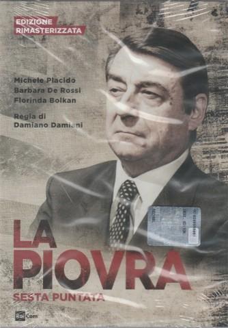 6° DVD La Piovra - edizione rimasterizzata