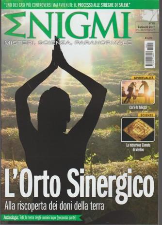 Enigmi - mensile n.25 Luglio 2017 -L'orto Sinergico, riscoperta doni della terra