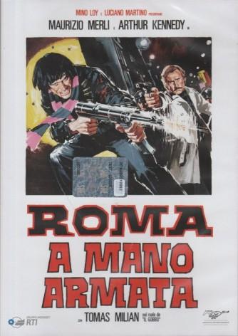 DVD - Roma a mano armata c/Tomas Milian - Regista: Umberto Lenzi