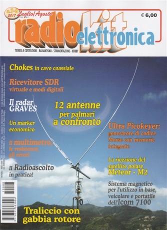 Radiokit Elettronica - mensile n. 7/8 Luglio / Agosto 2017