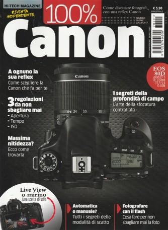 Hi-Tech Magazine - Bimestrale n. 1 Giugno 2017 - 100% CANON