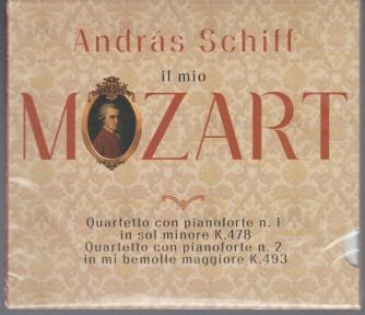 4° CD Andras Schiff -il Mio MOZART - Quartetto con pianoforte n. 1 K.478 e n.2 K.493