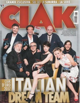 "CIAK - mensile n. 7 Luglio 2017 ""Italian Dream Team"""