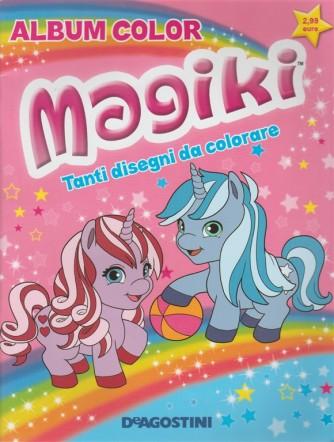 Magiki album color De Agostini Tanti disegni da colorare