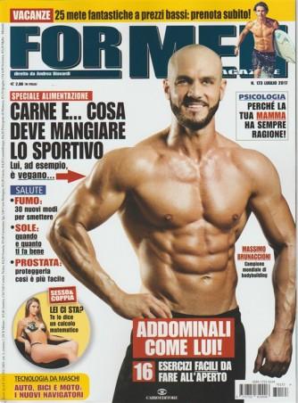 For Men Magazine-mensile n.173luglio 2017 Addominali:esercizi da fare all'aperto