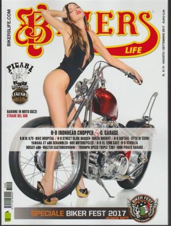 Bikers Life - mensile n. 8/9 Agosto / Settembre 2017 Barione in Moto Guzzi