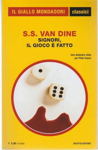 Signori, il gioco è fatto di S.S. Van Dine-Il giallo Mondadori Classici vol.1399